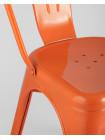 Стул Tolix оранжевый глянцевый