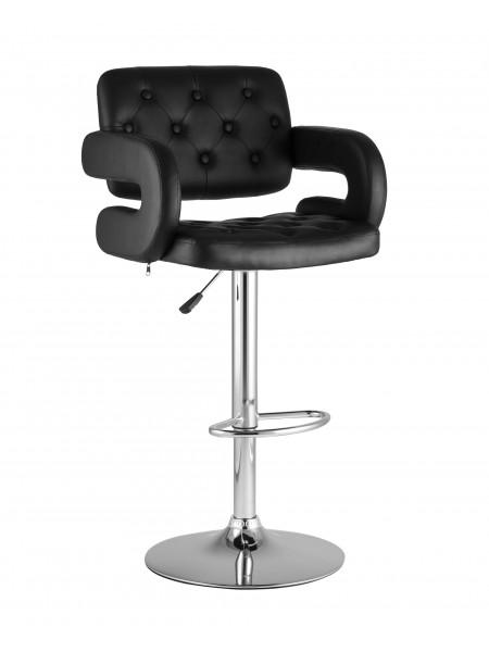 Барный стул Бентли черный PU-кожа