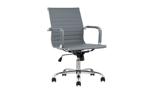 Офисное кресло TopChairs City S серое