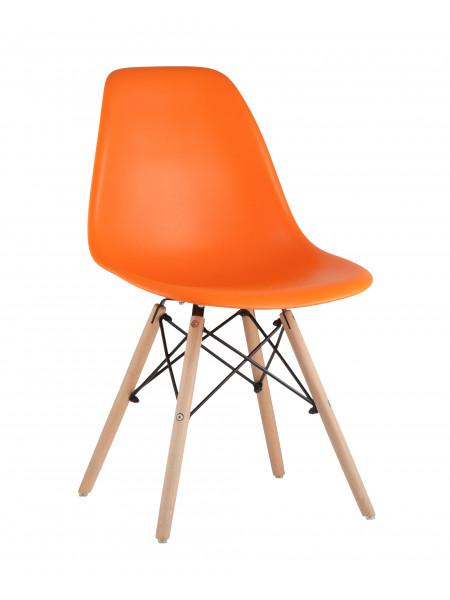 Стул Eames Style DSW оранжевый