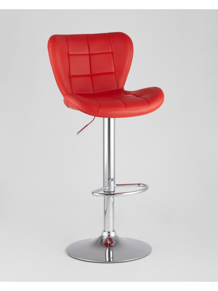 Барный стул PORSCHE красный экокожа