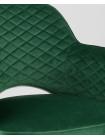 Cтул Венера диамант велюр изумрудный мебельная ткань велюр