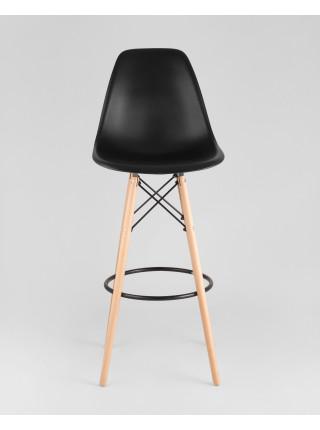 Барный стул DSW барный черный стальное основание