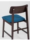 Комплект стульев ODEN мягкая тканевая синяя обивка