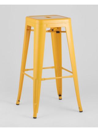 Барный стул Tolix желтый глянцевый