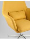 Кресло Рон регулируемое мягкое оранжевое обивка ткань