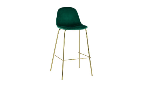 Барный стул Валенсия мягкий зеленый