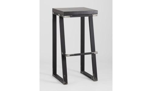 Барный стул Терракс с деревянным сиденьем
