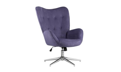 Кресло регулируемое Филадельфия синее обивка из замши