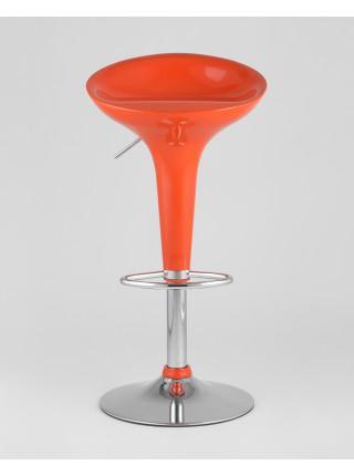 Барный стул Bomba (Бомба) оранжевый газ-лифт
