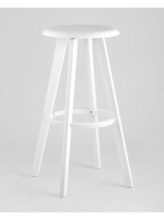 Барный стул барный вращающийся Hoker белый
