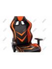 Компьютерное кресло Racer черное / оранжевое