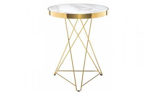 Стол деревянный Milena white / gold