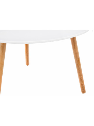 Журнальный стол Hofer белый