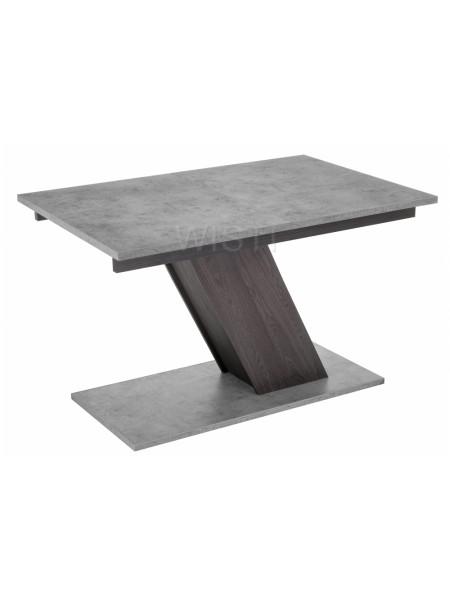 Стол Тирион бетон чикаго серый / дуб гладстоун табак