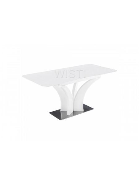 Стол стеклянный Horns 120 super white