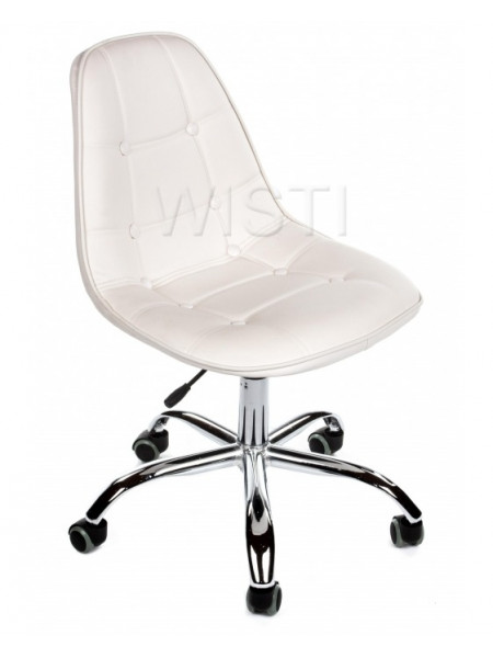 Компьютерное кресло PC-306 на колесах белый