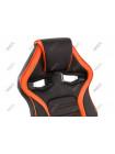 Компьютерное кресло Monza черное / оранжевое
