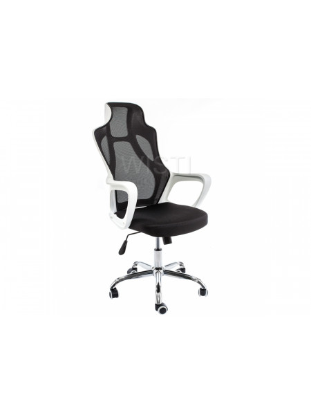 Компьютерное кресло Local белое / черное