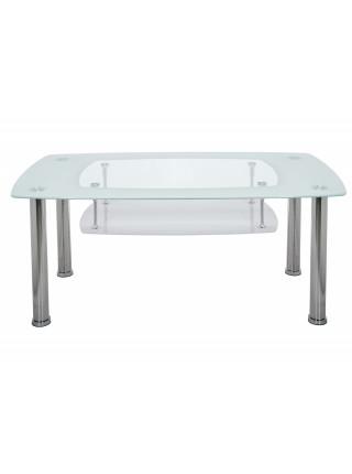 Стол стеклянный Tener белый