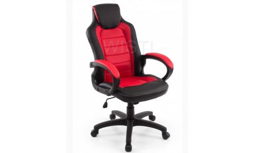 Компьютерное кресло Kadis темно-красное / черное