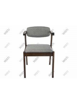 Стул деревянный Fit cappuccino / grey
