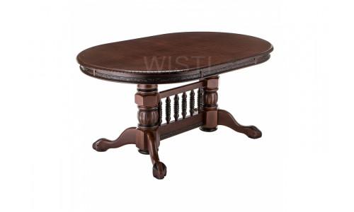 Стол деревянный Кантри орех с коричневой патиной